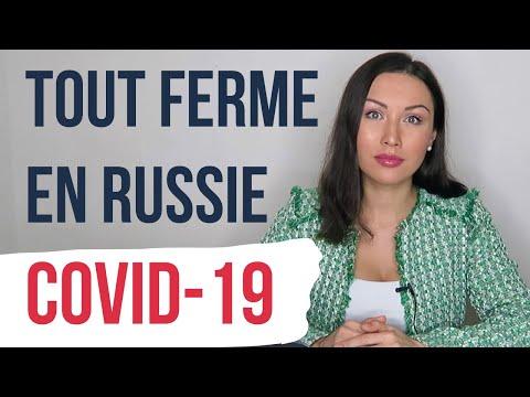 COVID-19: TOUT FERME EN RUSSIE