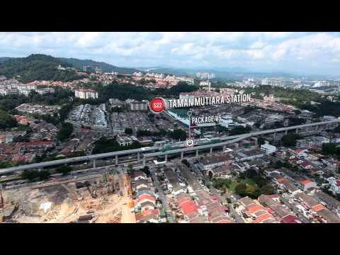 The Klang Valley MRT Elevated Works Q2 2015 Progress Video