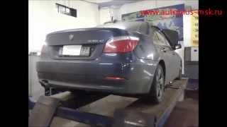Ремонт и замена катализаторов BMW 535 e60 на пламегаситель