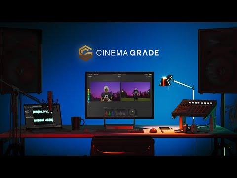 Cinema Grade: Evolutionary Color Grading on Windows