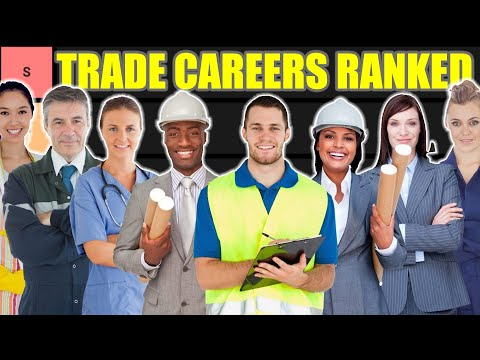 TRADES CAREER Tier List (Trade Jobs Ranked)