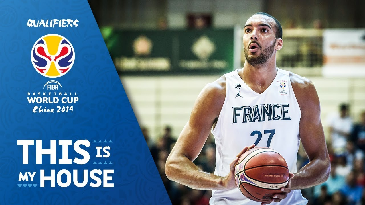 best service a02f9 93823 Rudy Gobert - France   Top Plays Rd.1   FIBA Basketball World Cup 2019  European Qualifiers