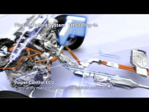 Prius Plug-in Hybrid Vehicle Technology