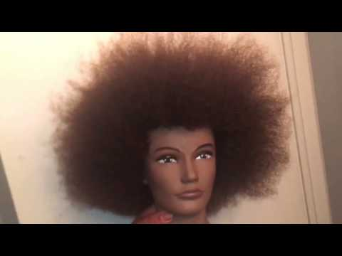 Curly Mannequin Head!