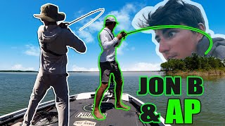HOOKED UP ON BIGS! We Can't STOP Catching GIANT BASS (Ft. APBassing)