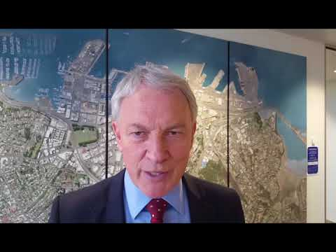Mayor Phil Goff on Auckland port plans