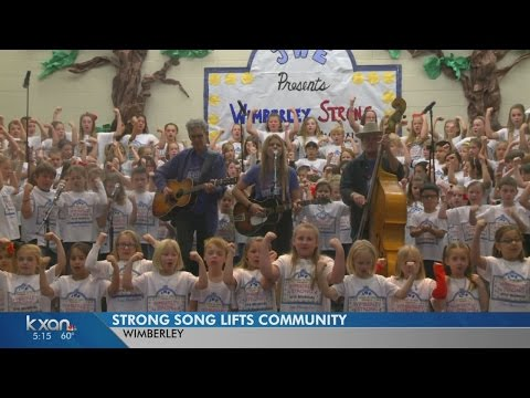 'Wimberley Strong' song released on iTunes