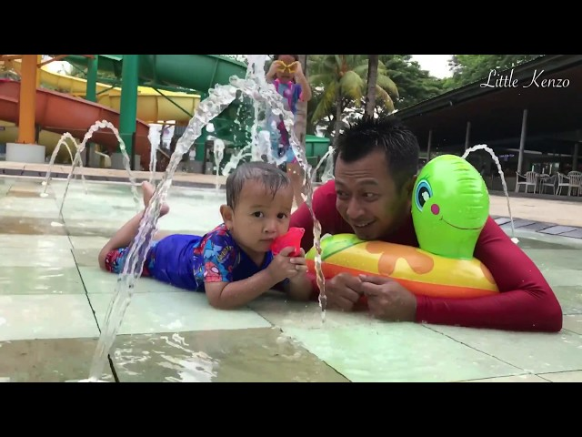 Aktifitas Zara dan Kenzo di Water Boom PIK | Main Air | Buka Egg Surprise | Kuliner