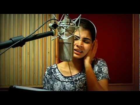 """""""Sara Sara"""" Tamil song Recording Session with Chinmayi Sripada"""