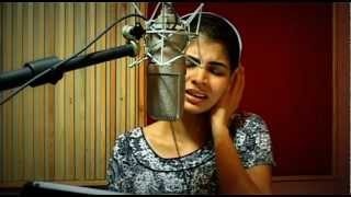 sara-sara-tamil-song-recording-session-with-chinmayi-sripada