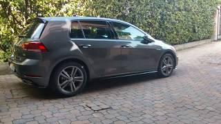 Volkswagen Golf Sport Edition R Line Facelift 2017 Indium Grey