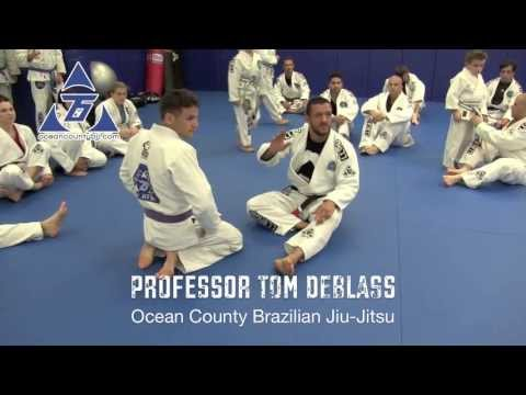 Basic Deep Half Guard with Professor Tom DeBlass of OCBJJ Seminar at SJBJJ - Nogi Bear™