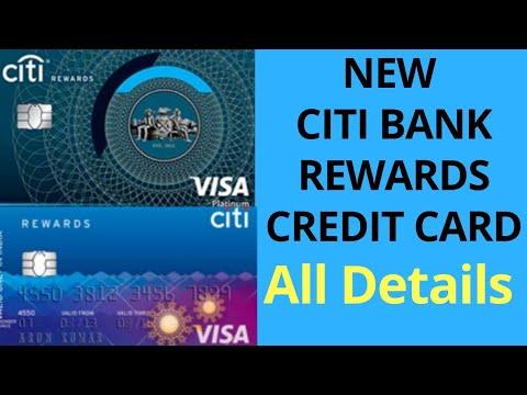 CITIBANK CREDIT CARD  CITIBANK REWARDS CREDIT CARD
