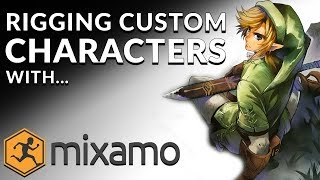 Importing & Animating Custom Characters With Mixamo For Beginners