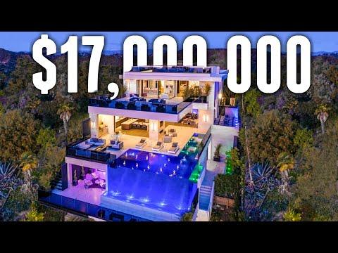 Inside a $17 Million Fully Customized Bel Air MEGA MANSION