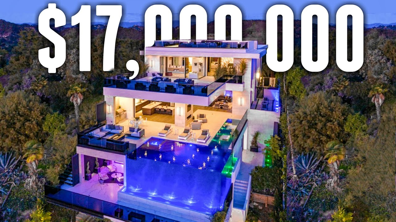 Inside a  Million Fully Customized Bel Air Mega Mansion