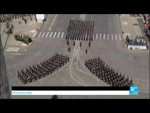 Le défilé du 14 juillet, célébration de l'amitié franco-américaine