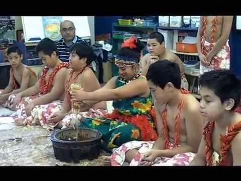 Samoan Language Week Opening Ceremony Holy Family School 20151