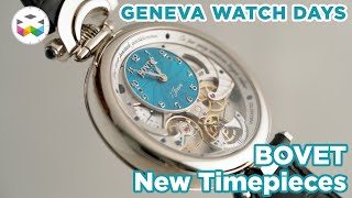 Presenting Bovet Timepieces of 2021