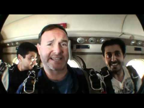 Mohammad Alshehri SKYDIVES!!