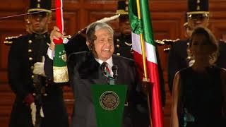 Grito de Independencia  209 Aniversario. Presidente AMLO