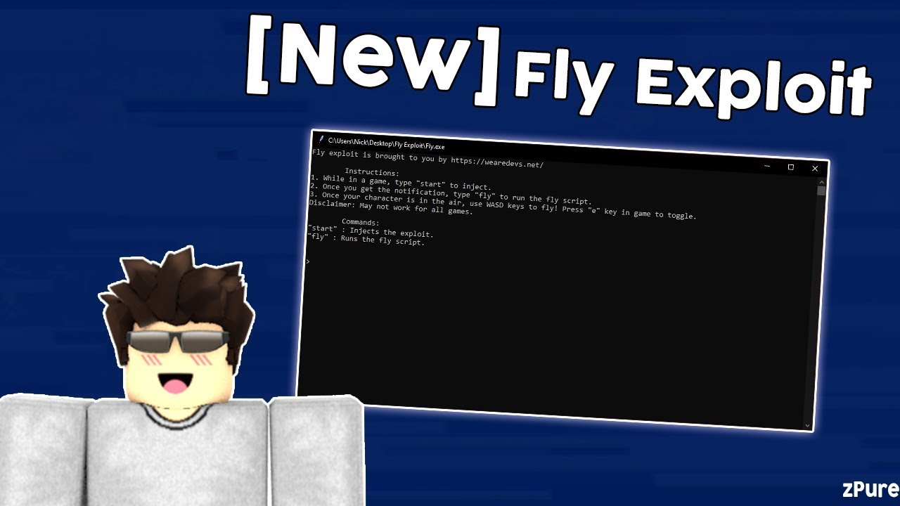 Dope Fly Exploit Fly In Roblox 2019 Youtube