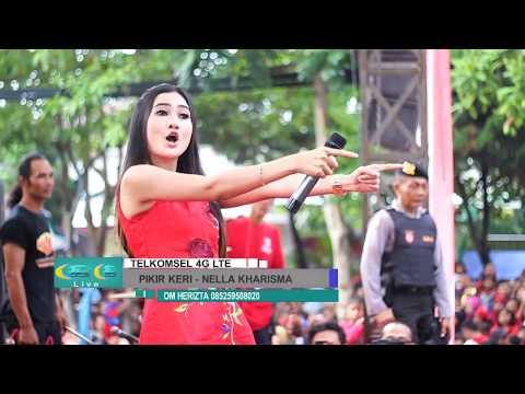 Pikir Keri - Nella Kharisma - OM Herizta live event Telkomsel 4G LTE Pare 2017