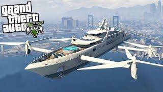 GTA 5 Mods - FLYING SHIP
