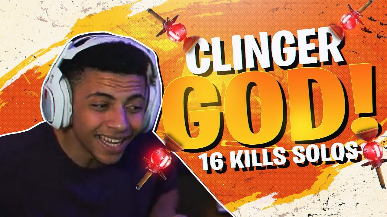 The Clinger God 16 Kill Aggressive Solo Fortnite Br Full Match
