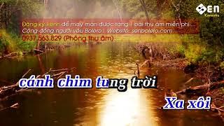 karaoke Chiều Mưa Biên Giới Beat Chuẩn -