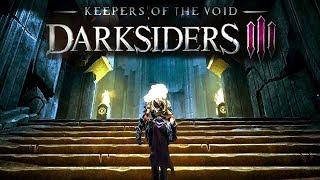Darksiders 3 Keepers of the Void. Часть 1. Хранители Пустоты. Босс Аганош. Загадка с кубами.
