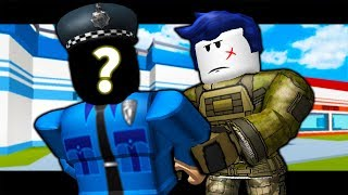 THE LAST GUEST ARRESTS A COP! ( A Roblox Jailbreak Roleplay Story)