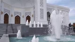 Место силы Чечни, Кавказский Тадж-Махал - мечеть в Шали | сентябрь 2019