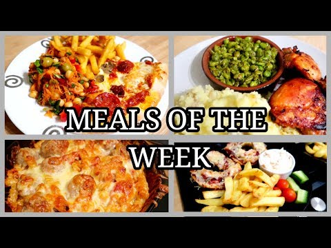 MEALS OF THE WEEK ~ FAMILY OF FIVE ~ #33