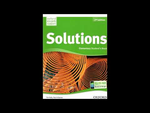 Solutions ELEMENTARY UNIT 2