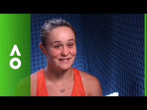 Ashleigh Barty post match interview (2R) | Australian Open 2018