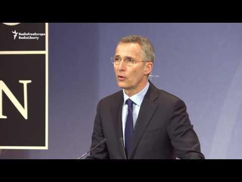 Stoltenberg Underscores Tensions Over Ukraine At NATO-Russia Talks