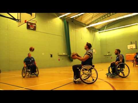 Wheelchair Basketball, Daily Echo