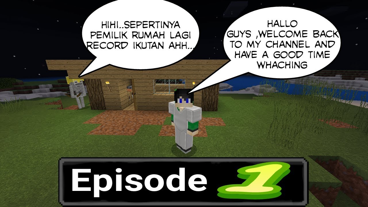 Minecraft survival indonesia pertama dan mewarnai kasur