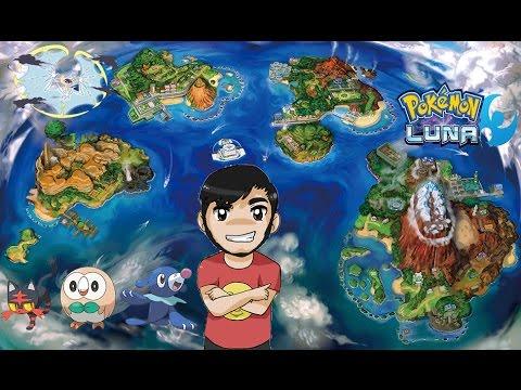 """DIRECTO: Let´s play Pokemon Luna #15 """"Los Ultraentes"""""""