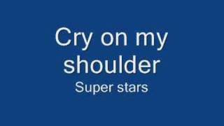 Cry on my shoulder