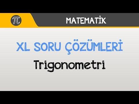 "Trigonometri ""XL"" Soru Çözümleri"