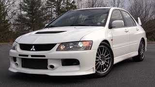 2006 Mitsubishi Lancer Evolution IX MR Edition: Start Up, Test Drive & In Depth Review