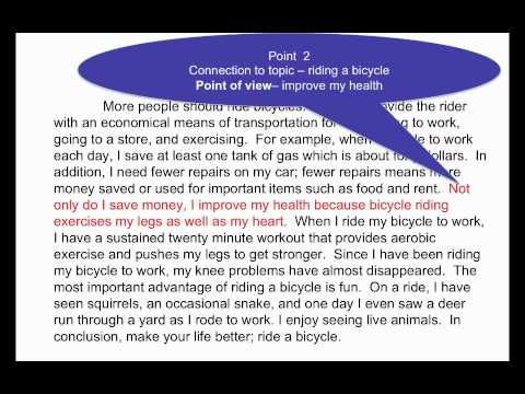 Persuasive Paragraph - YouTube