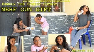Download Family The Honest Comedy - Nerf Gun Gift (Family The Honest Comedy Episode 219)