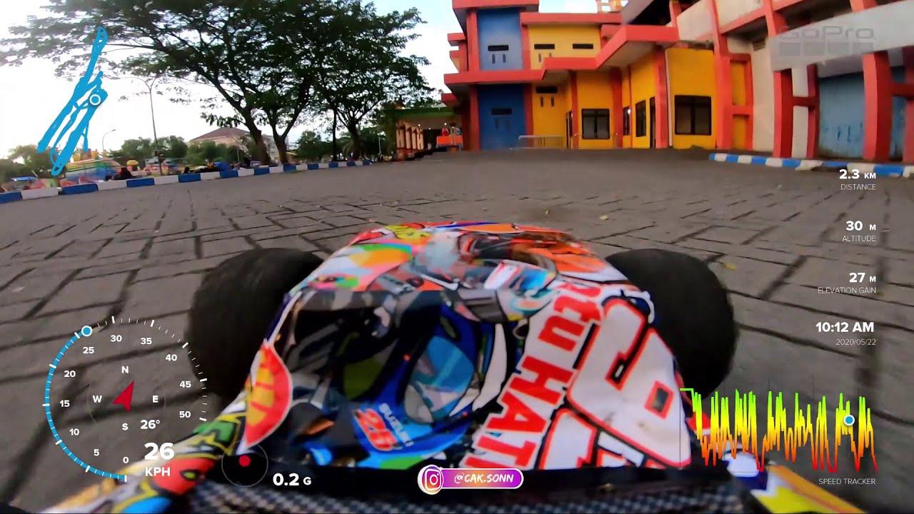 Ngabuburit Main FPV Rc Car 1/10 Brushless Motor di Stadion Gelora Bangkalan фото