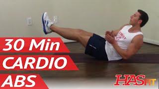 Video 30 Min Annihilation Cardio Abs Workout for Men & Women at Home download MP3, 3GP, MP4, WEBM, AVI, FLV November 2017