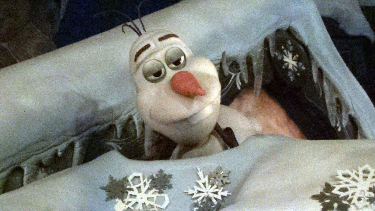 Olaf Animatronic Snowman From Disney S Frozen Sleeping