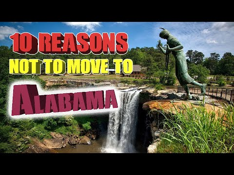 Top 10 reasons NOT to move to Alabama. Birmingham is on the list and The Crimson Tide.