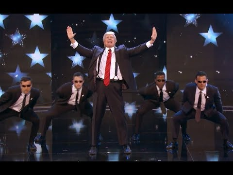 Trump Is Making AGT Great Again With Backstreet Boys Medley! | Judge Cut | America's Got Talent 2017